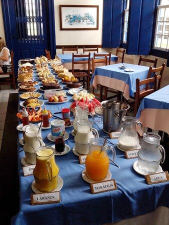 Pousada Mucuge: Ótimo café da manhã!