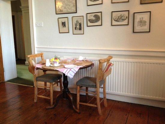 Crosthwaite House: The dining room