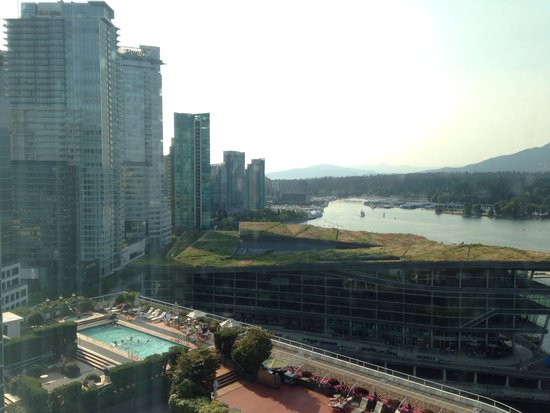 Pan Pacific Vancouver : View from the room