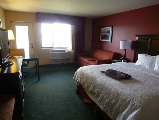 Hampton Inn Richland / Tri-Cities: king, river view room