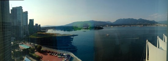 Pan Pacific Vancouver: View from the room