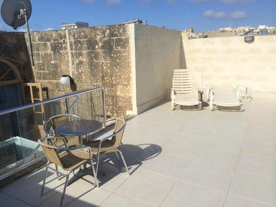 Anna Karistu Accommodation: Sun Terrace