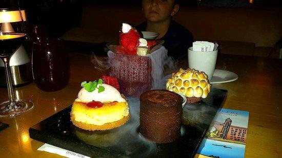 Seafire Steakhouse : Unbelievable desserts. Thank you Byron !!
