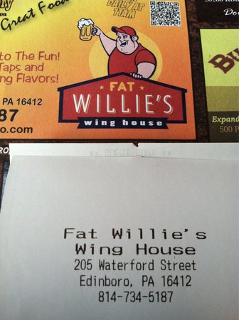 Fat Willie's Wing House