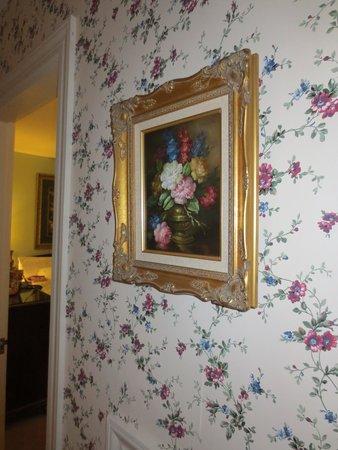 Inn at Montpelier: Artwork in our room.