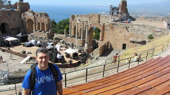 Ancient Theatre of Taormina : Teatro Antico Taormina