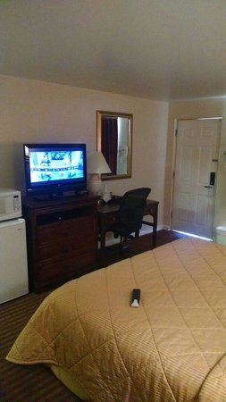 Travelodge Klamath Falls: Flat screen
