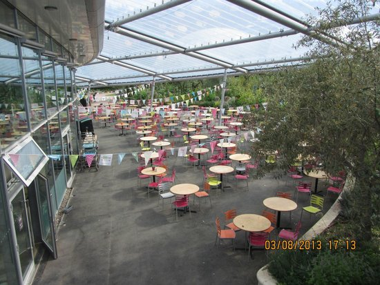 Eden Project: One of the dining areas