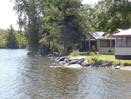 Wilsons on Moosehead Lake: 2 of many cabins with Lake front views