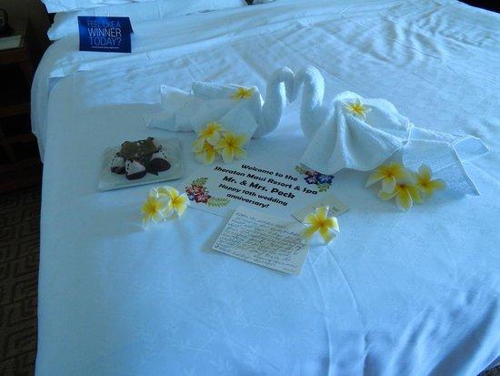 Sheraton Maui Resort & Spa: Welcome gift
