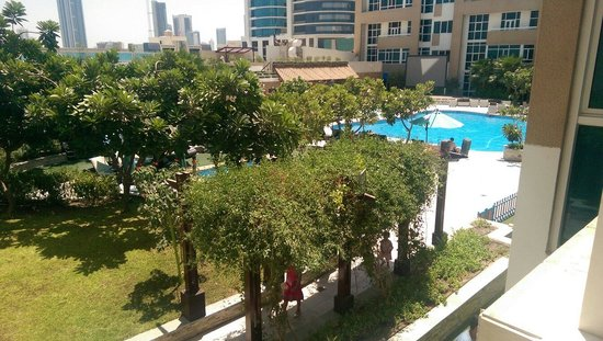 Elite Seef Residence & Hotel: Two bedroom suite View from room