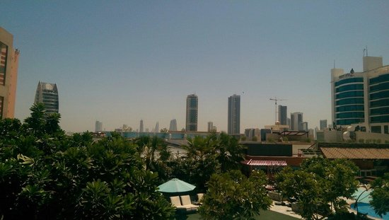 Elite Seef Residence & Hotel: View of Bahrain