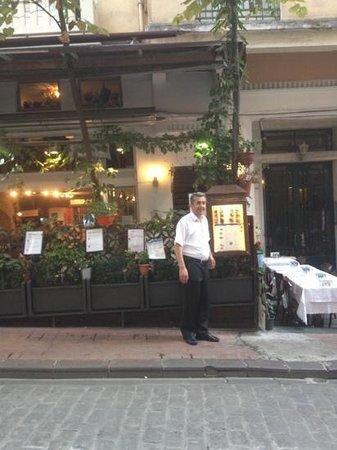 Mavi Melek Restaurant: Mavi Melek - we really enjoyed our time here