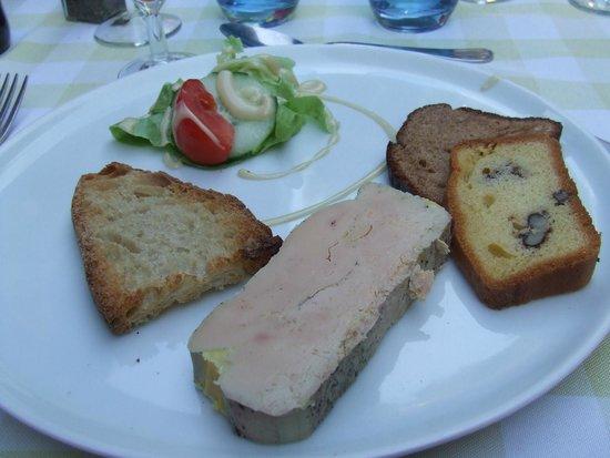 Auberge La Ferme du Brusquand : le foie gras de l'entrée