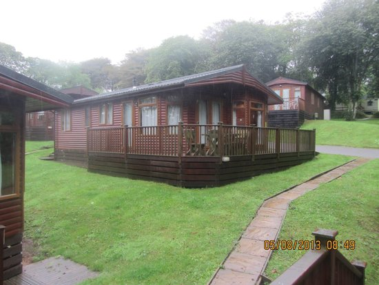 Juliots Well Holiday Park: Wooden Cottages