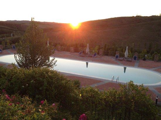 Villa i Laghi: piscine