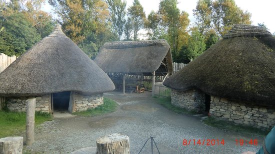 Irish National Heritage Park: our home for the night