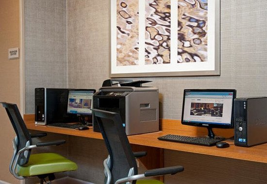SpringHill Suites by Marriott Chicago Naperville / Warrenville: Business Center