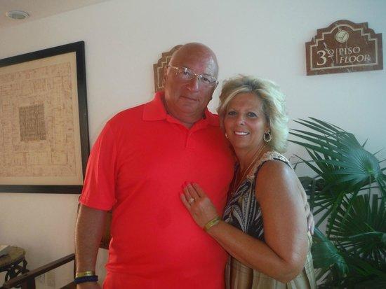 Hyatt Zilara Cancun: Me and my wife.