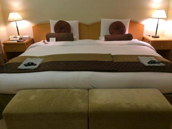 Hotel Okura Tokyo : ベッド