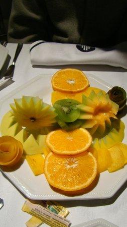 Don  Boutique Hotel: Prato com frutas