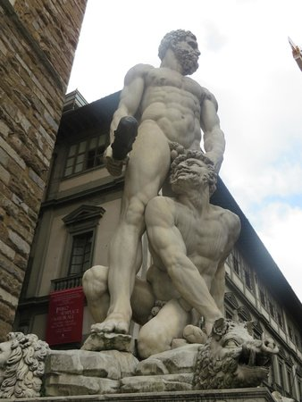 Plaza de la Señoría: Statue of Hercules and Cacus