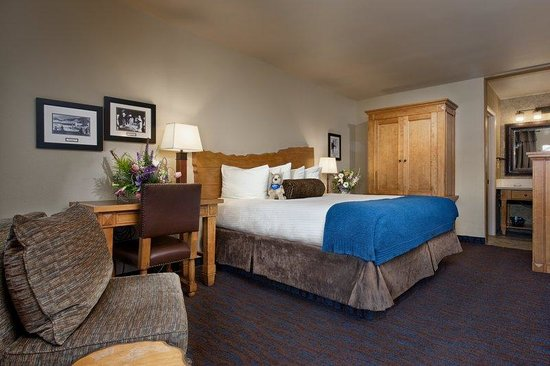 The Lexington at Jackson Hole: One King Bed Courtyard