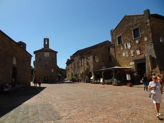Museo Di San Mamiliano: Sovana, la Piazza principale