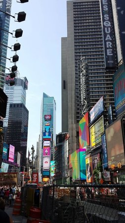 Real New York Tours: times square