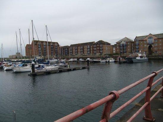 Premier Inn Hartlepool Marina Hotel: the marina