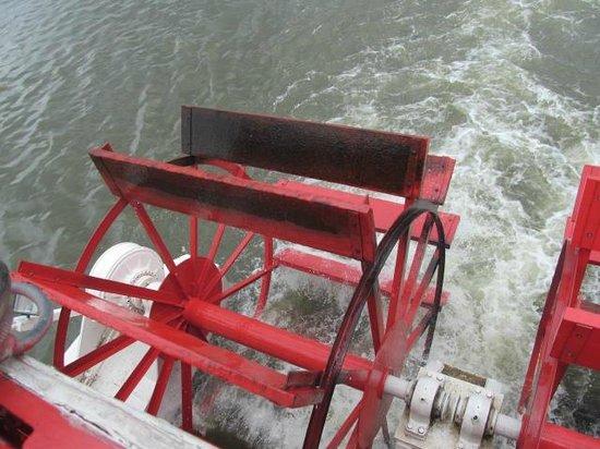 Pride of the Susquehanna : Paddle Wheel