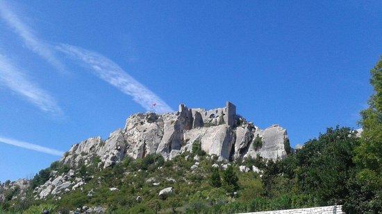 Château des Baux de Provence : Chateau des baux de provence