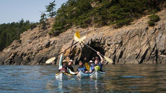 Anacortes Kayak Tours: Last Day... final crossing!