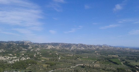 Château des Baux de Provence : Vue du site