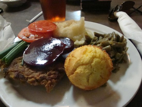 San Augustine, TX: Green beans, potatoes, beets
