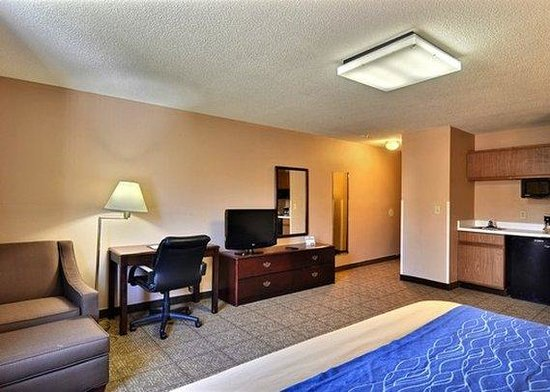 Quality Inn: WVBusiness King Suite