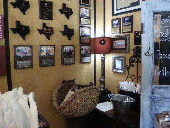 San Augustine, TX: Inside Dining Room