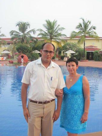 The LaLiT Golf & Spa Resort Goa: Я и Чатрам