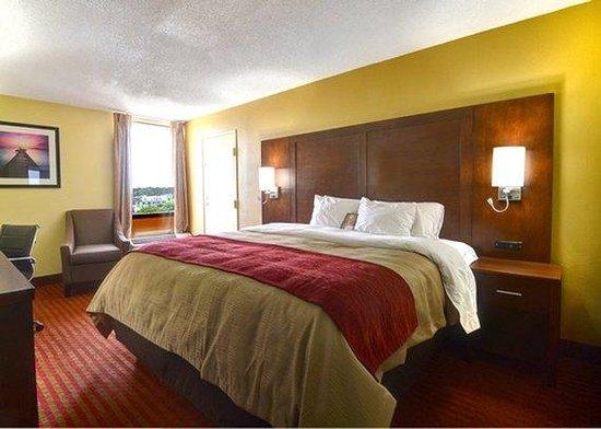 Comfort Inn University: King bed Room
