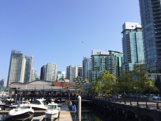 The Westin Bayshore, Vancouver : Right on the water