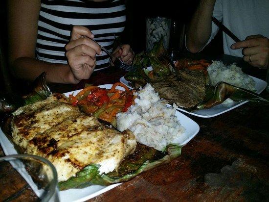 Gringo Curt's Seafood & Vistor Center: Fish plate