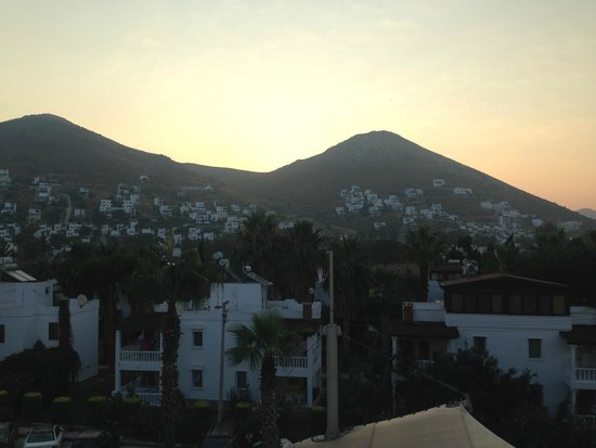 Grand Park Bodrum: View from the balcony