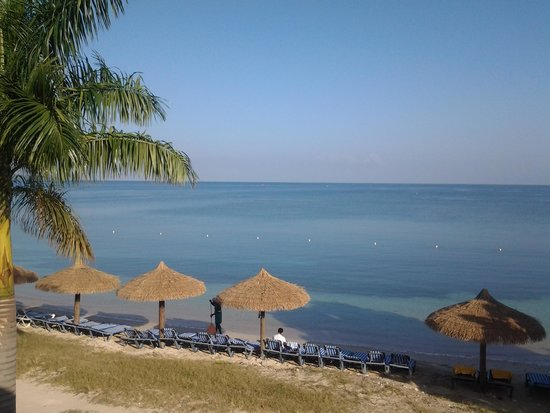 Sunscape Cove Montego Bay: Early morning from my balcony at Oasis