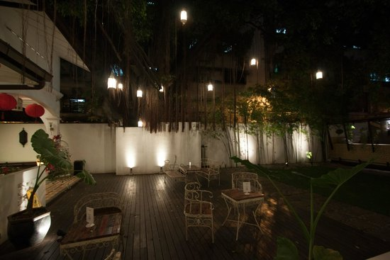 The Yard Boutique Hotel KL: Belle terrasse
