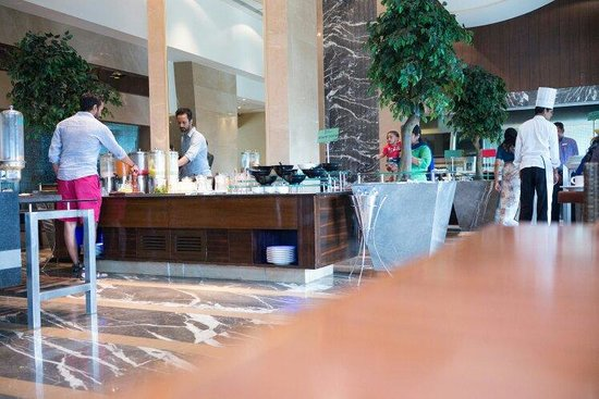 Radisson Blu Hotel Chennai City Centre: Fresh fruit drinks