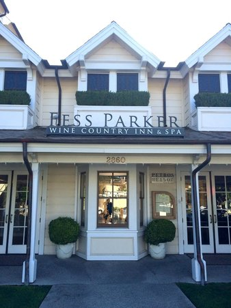 Fess Parker's Wine Country Inn and Spa: Fess Parker Front 1