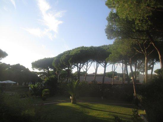 Park Hotel Marinetta: vue du balcon de la chambre