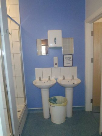 Bunk House: Our bathroom down the hall
