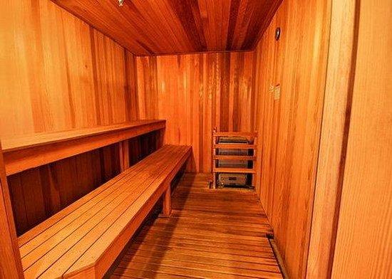 كومفرت إن آند سويتس: sauna
