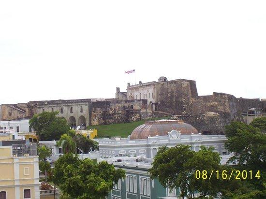 Sheraton Old San Juan Hotel : Castillo San Cristobol